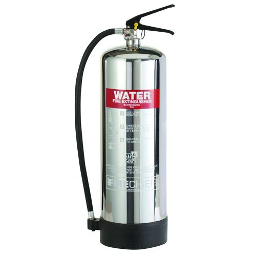 6 Litre Water Stainless Steel Extinguisher Fire Extinguishers