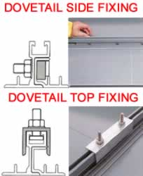 Dovetail C Sign Clip