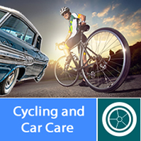 cycling and car accesories