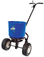 winter xtreme 18kg salt spreader