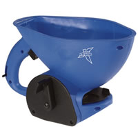 hand held spreader blue